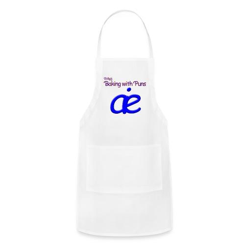Erika's Baking with Puns Apron - Adjustable Apron