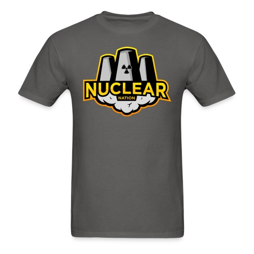 Nuclear Nation T-Shirt Gray - Men's T-Shirt
