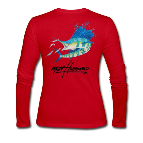 Women's Sick Sail Long Sleeve Jersey Shirt - Women's Long Sleeve Jersey T-Shirt