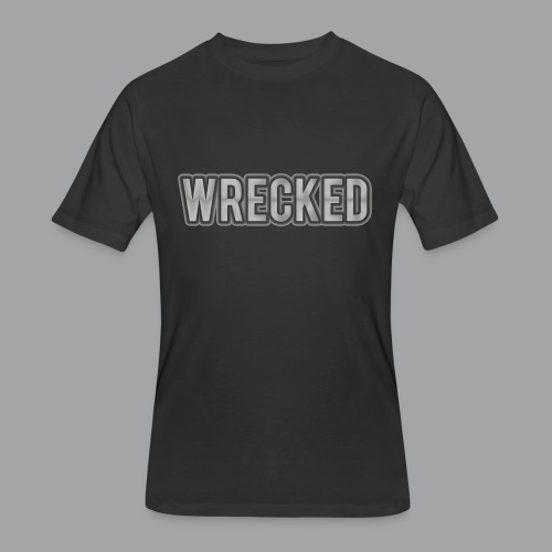 Silver Wrecked Men's Shirt - Men's 50/50 T-Shirt