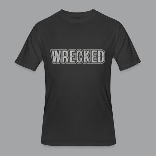 Silver Wrecked Men's Shirt - Men's 50/50 T-Shirt