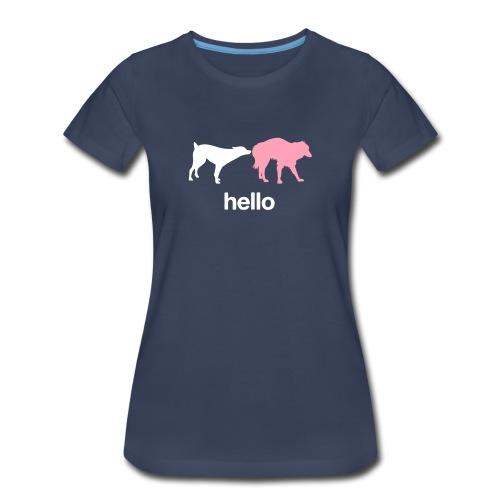 Hello Womens Tee - Women's Premium T-Shirt