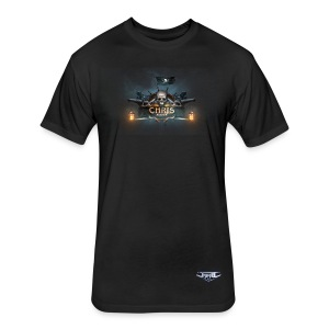 EoW Federation - 50 Poly /50 Cotton Chris Baxter T-Shirt - Fitted Cotton/Poly T-Shirt by Next Level
