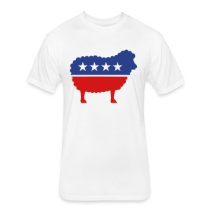 We The Sheeple - Fitted Cotton/Poly T-Shirt by Next Level