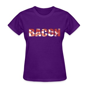 Bacon - Woman's T-Shirt - Women's T-Shirt