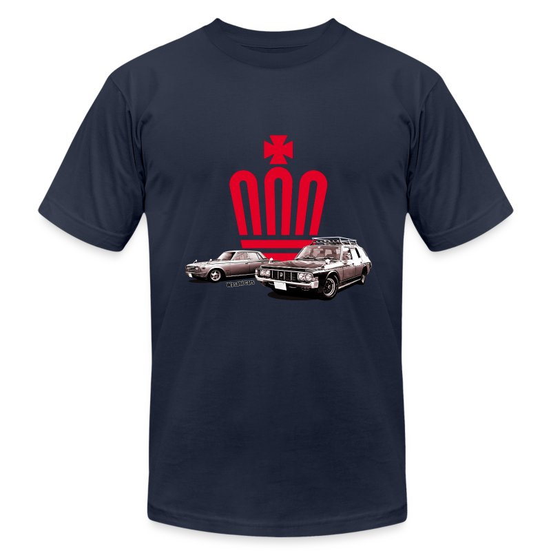 crown_shirt_red.png - Men's T-Shirt by American Apparel