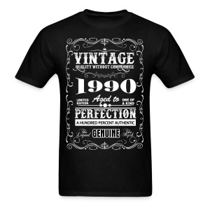 Premium Vintage 1990 Aged To Perfection T-Shirts - Men's T-Shirt