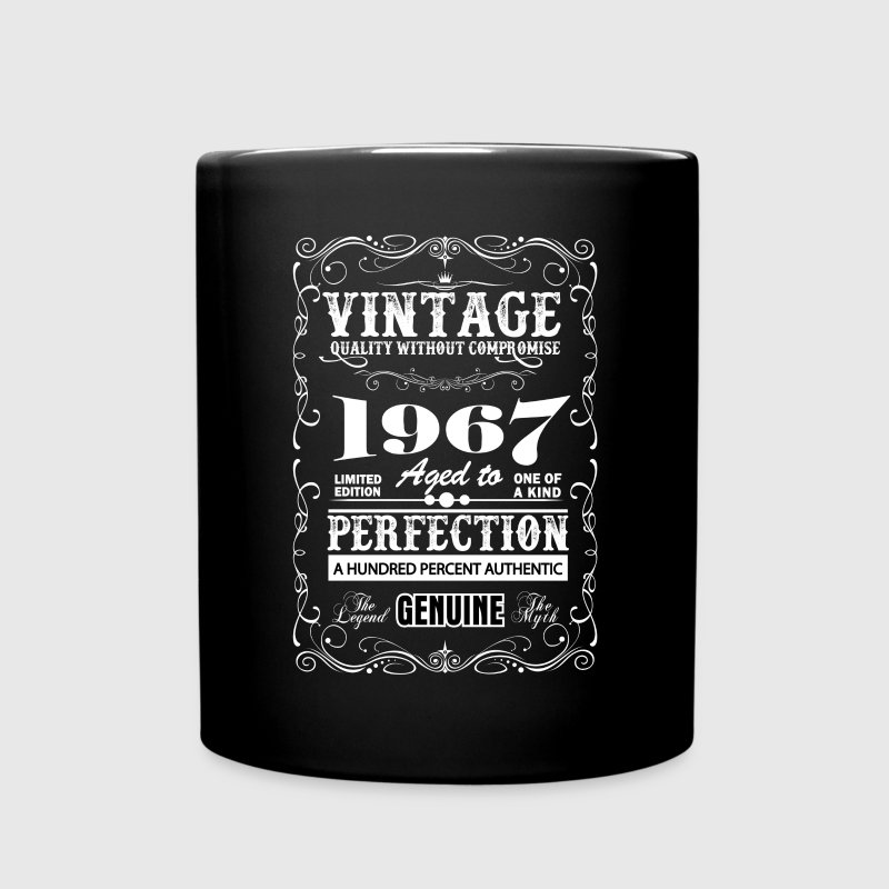 Premium Vintage 1967 Aged To Perfection Mugs & Drinkware - Full Color Mug