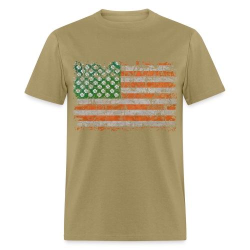 Irish States Of Lucky America  - Men's T-Shirt