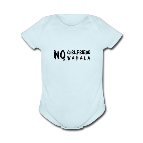 Girlfriend wahala - Organic Short Sleeve Baby Bodysuit