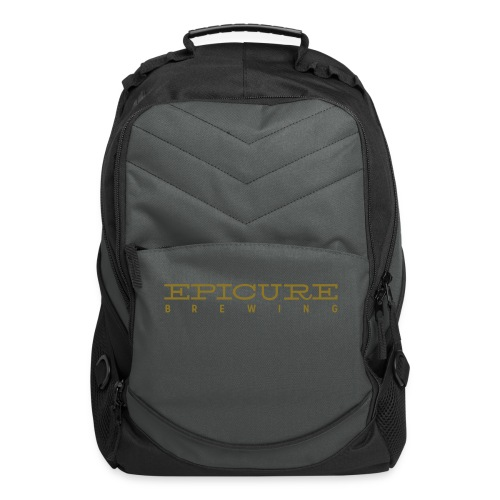 Computer Backpack with Epicure name on front in Gold - Computer Backpack