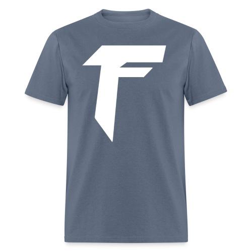 White Logo - Basic Color Tees - Men's T-Shirt