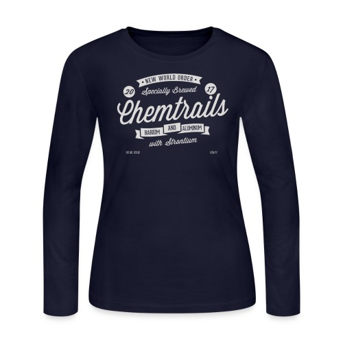 Chemtrails Womens Long Sleeve T-Shirt - Women's Long Sleeve Jersey T-Shirt
