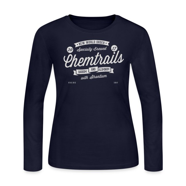 Chemtrails Womens Long Sleeve T-Shirt