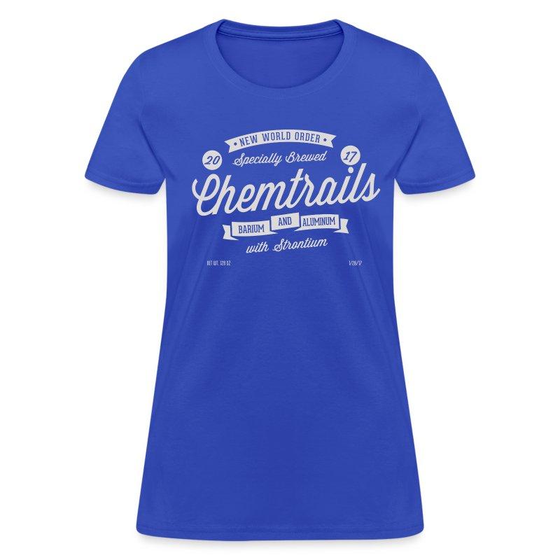 Womens Chemtrails T-Shirt - Women's T-Shirt