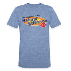 Natural Selection tee - Unisex Tri-Blend T-Shirt by American Apparel