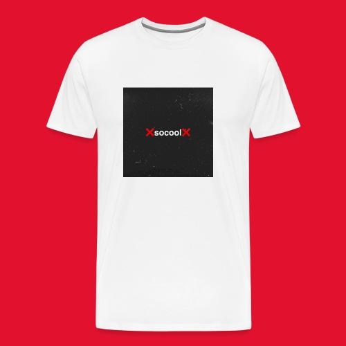 SOCOOL Logo Tee. - Men's Premium T-Shirt