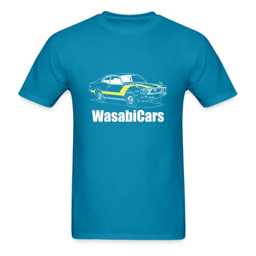 Mazda RX3 - wh/yel - Men's T-Shirt