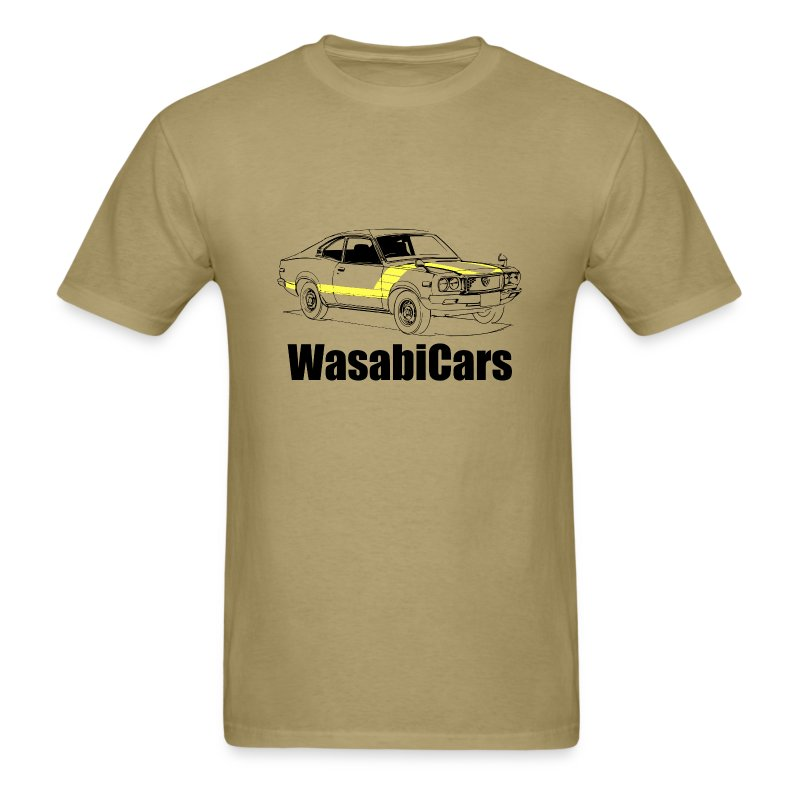 Mazda RX3 - yel - Men's T-Shirt