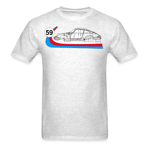 Brumos 59 Racing 911 - Men's T-Shirt