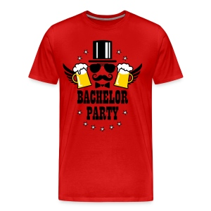 Groom Wedding Stag night bachelor Beer party T-Shirt - Men's Premium T-Shirt