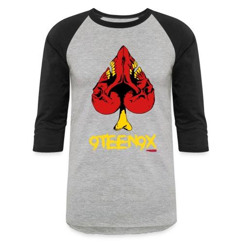 9Teen9X Raglan T-shirt - Baseball T-Shirt