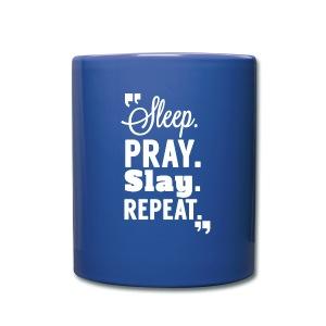 SLEEP. PRAY. SLAY. Mug - Full Color Mug