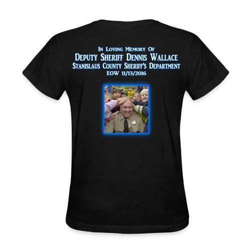 Dennis Wallace, Deputy - Women's T-Shirt