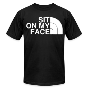 Sit - Men's T-Shirt by American Apparel