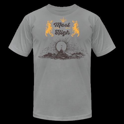 RockyMountainHigh - Men's Fine Jersey T-Shirt