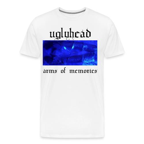 arms of memories shirt white - Men's Premium T-Shirt
