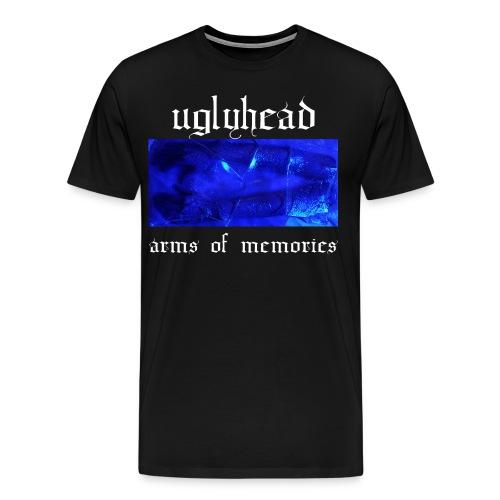 arms of memories black t-shirt - Men's Premium T-Shirt