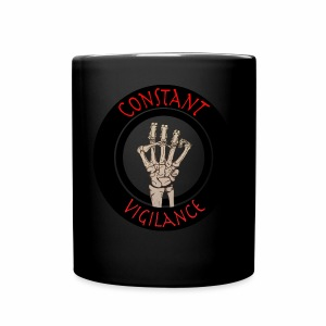 constant vigilance mug-black - Full Color Mug