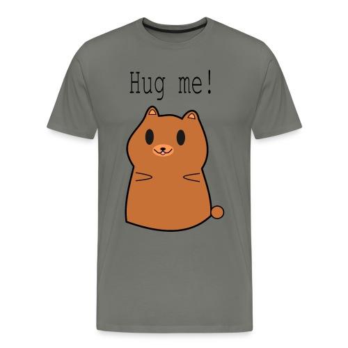 Hug me bear. - Men's Premium T-Shirt