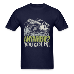 Jeep Anywhere - Men's T-Shirt