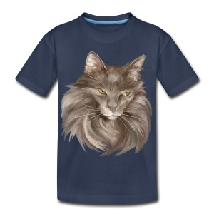 My Grey Lady - Kids' Premium T-Shirt
