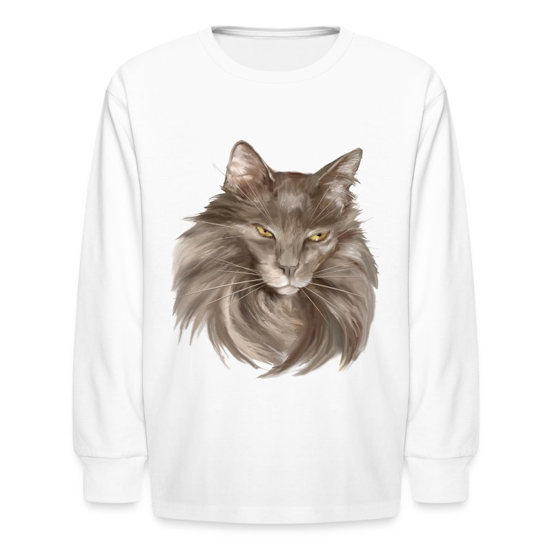 My Grey Lady - Kids' Long Sleeve T-Shirt