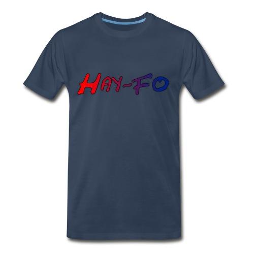 Hay-Fo (Mens) - Men's Premium T-Shirt