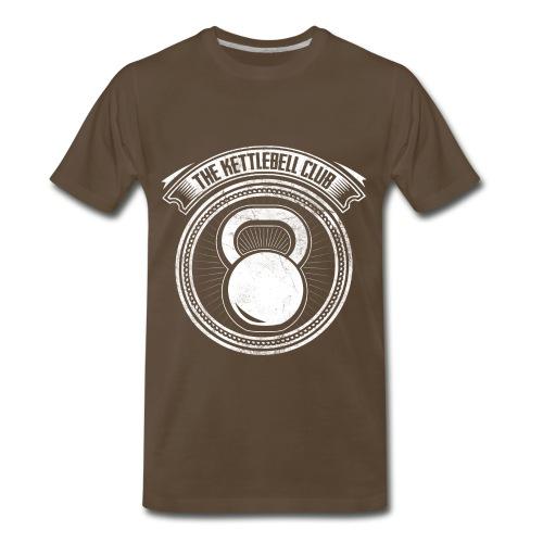 The Kettlebell Club Official Shirt - Men's Premium T-Shirt