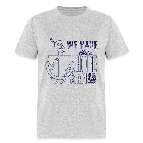 2017 t-shirt, Navy font - Men's T-Shirt
