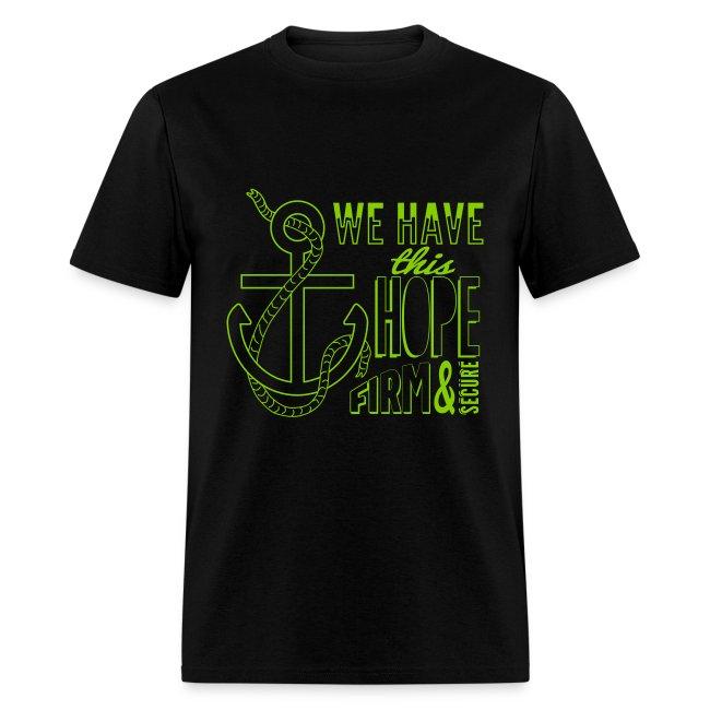 2017 t-shirt, Green (apple) font