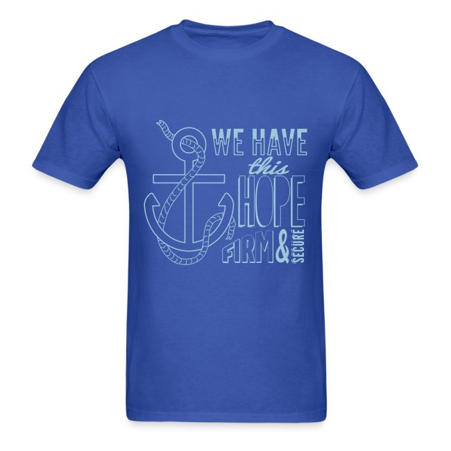 2017 t-shirt, Powder Blue font