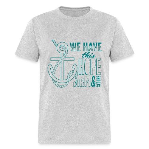2017 t-shirt, Teal font - Men's T-Shirt