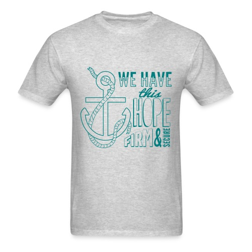 2017 t-shirt, Teal font - Men's T-Shirt