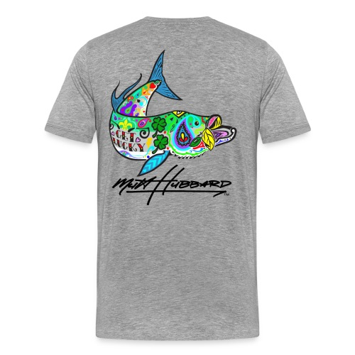 Men's Premium Lucky tarpon T-Shirt - Men's Premium T-Shirt