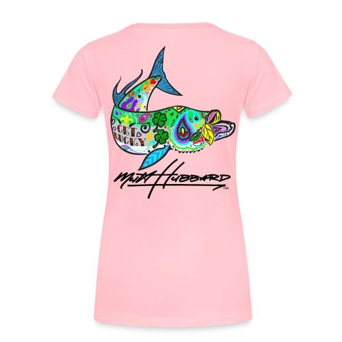 Women's Premium Lucky Tarpon T-Shirt - Women's Premium T-Shirt