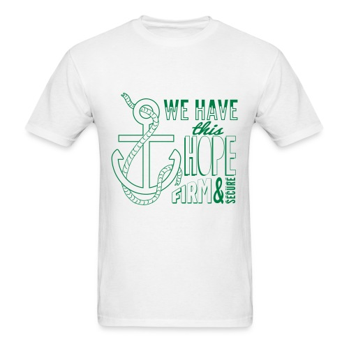 2017 t-shirt, Green font - Men's T-Shirt