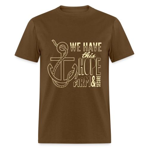 2017 t-shirt, Cream font - Men's T-Shirt