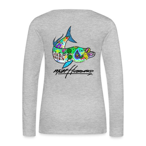 Women's Premium Lucky Tarpon Long Sleeve Shirt - Women's Premium Long Sleeve T-Shirt
