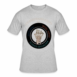 Zooarchaeologists for social justice, inclusion and science education - Men's 50/50 T-Shirt